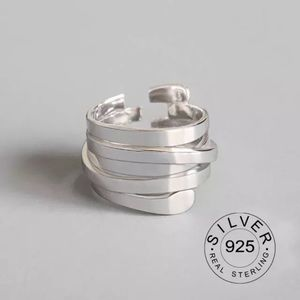 NEW 925 Stamped Silver Adjustable Ring